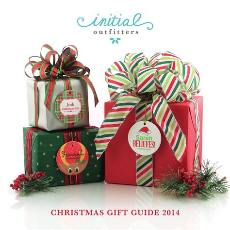 issuu initial outfitters christmas gift guide 2014 by