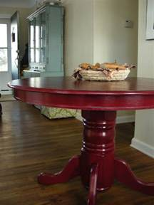 Kitchen Table Colors Colorful Painted Dining Table Inspiration