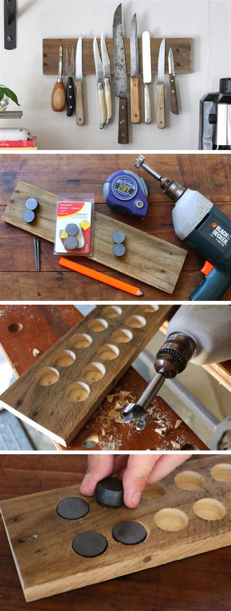 diy on a budget home decor diy rustic wall rack 27 diy rustic decor ideas for the