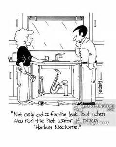 How To Fix A Leaky Kitchen Sink Faucet by Faucet Cartoons And Comics Funny Pictures From Cartoonstock