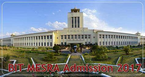 Bit Mesra Mba Fees by Bit Mesra Courses Cus Placements Fee Structure