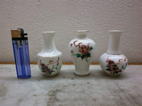 Guci Porcelain Antik antikpisan 3 buah miniatur guci porcelain made in china