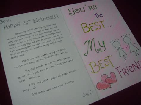 In Birthday Letter Happy Birthday Letter To My Best Friend Best Business Template