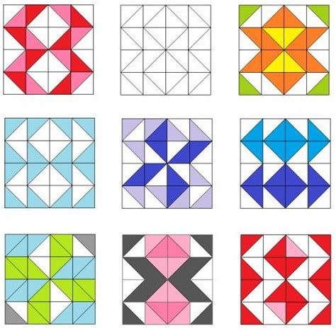 pattern block triangle 32 best images about quilts triangles easy patterns on