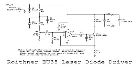 laser diode driver circuit pdf sam s laser faq diode laser power supplies