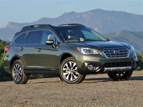 subaru outback 2016 green changes and new features in subaru outback for 2016 model year