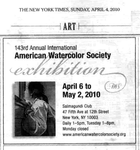 ny times art section robin purcell california watercolors in the plein air