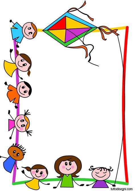 cornice bambini cornicetta con bambini tuttodisegni