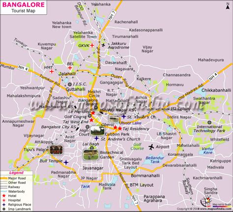 bangalore city map images bangalore map and bangalore satellite image