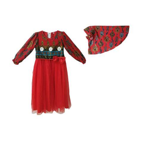 Gamis Anak Songket jual baby zakumi motif kain songket baju muslim gamis anak