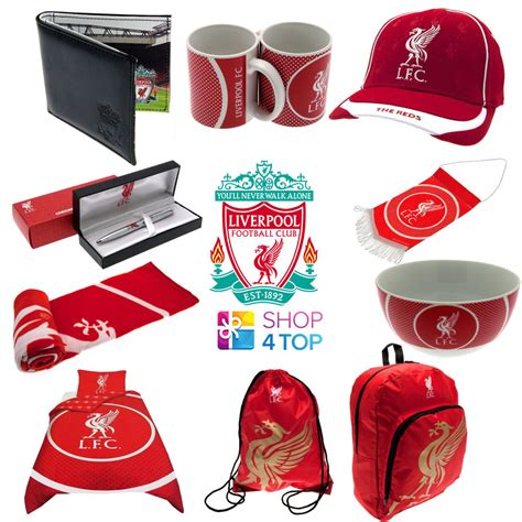 gifts for soccer fans liverpool fc football club team official fan apparel