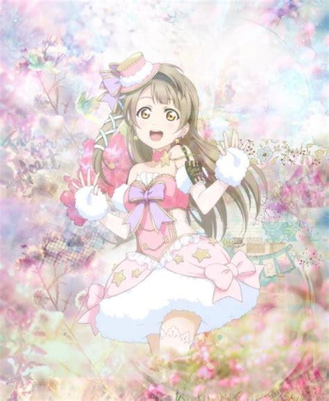 love live themes tumblr love live kotori floral edit by misaki michelle on