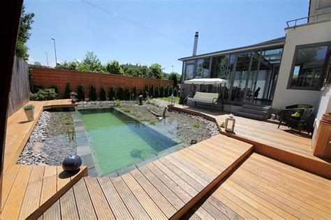 how to build a swimming pond home design garden