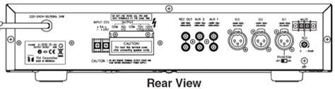 Mixer Power Lifier Toa A 2240 toa a 2240 240 watt mixer