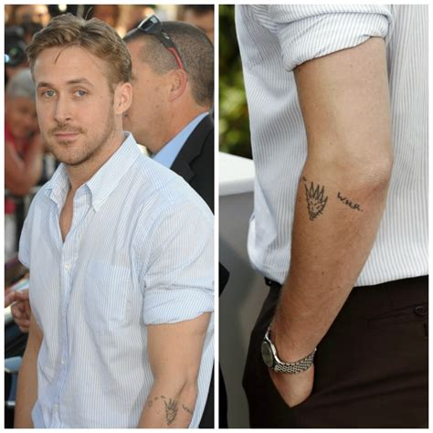 ryan gosling tattoo 35 tattoos the stories them ink
