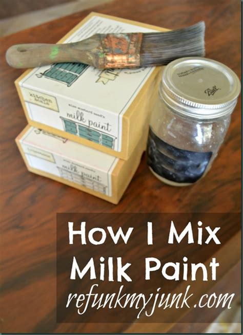 tuesday tips how i mix miss mustard seed s milk paint doozie s corner