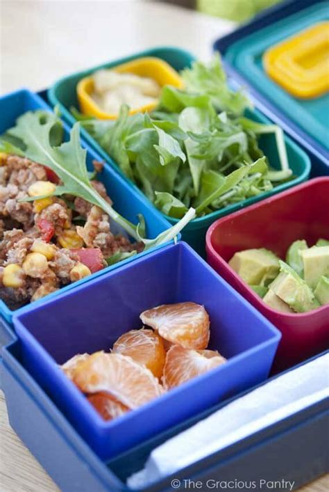 Pantry Lunch Ideas by Clean Grownup Lunch Ideas