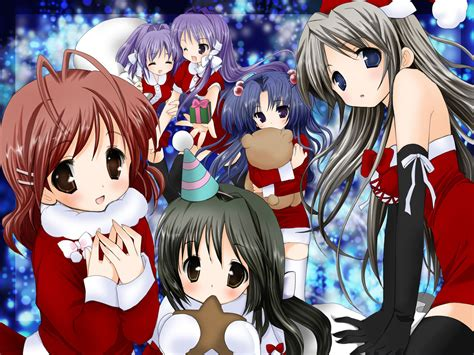kawaii wallpapers gt clannad wallpapers x mas anime