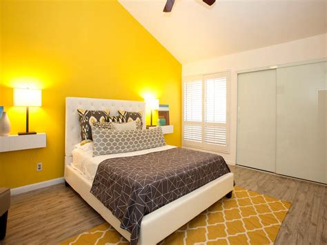 Yellow Accent Wall | photos hgtv