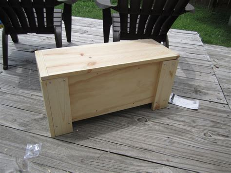 simple bench diy attractive wooden bench look like side table which is