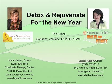 Detox Of The Year by Detox Rejuvenate For The New Year