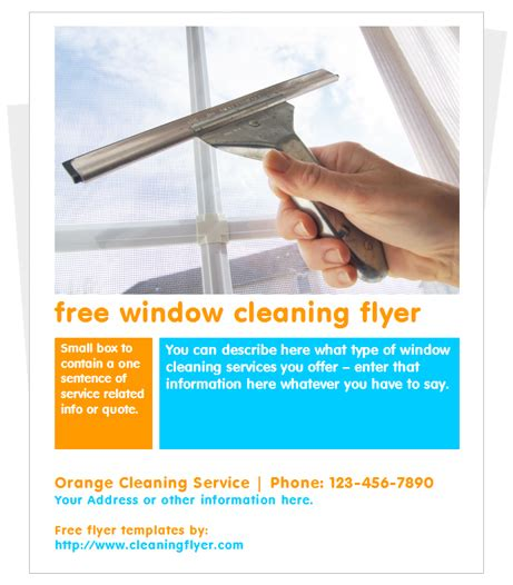 free cleaning business flyer templates 25 free business flyer templates to suit your business