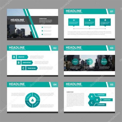 design elements when creating slides green black presentation templates infographic elements