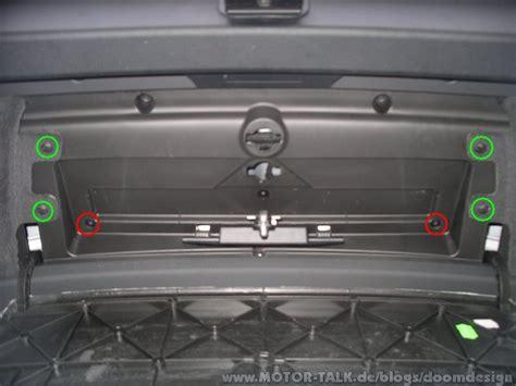 Audi A6 4b Heckklappenverkleidung by Demontage Der Heckklappenverkleidung Avant Doomdesign