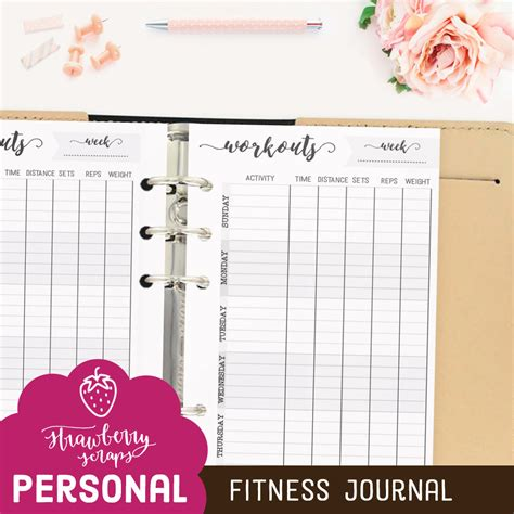 fitness journal planner workout exercise log diary for personal or competitive 15 weeks softback large 8 5 x 11 page exercise fitness gifts books workout planner fitness journal printable planner