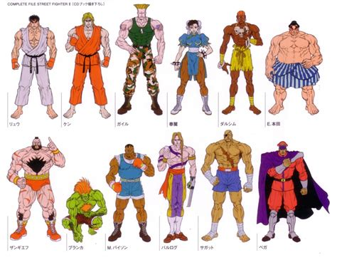 from street fighter main character name character model street fighter ii character sheets