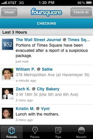 location, location, etc: what does the wsj's foursquare