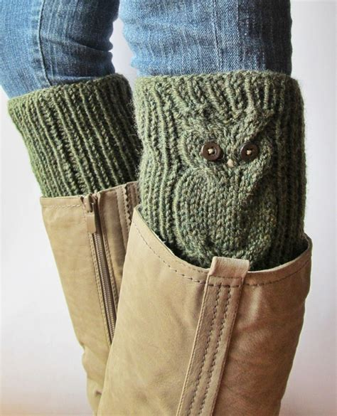 pattern for owl socks 182 best images about boot cuffs on pinterest free