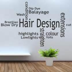 new arrival hair shop vinyl wall decal spa barber shop