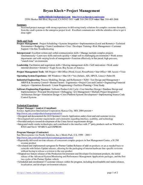 Project Resume by 25 Best Ideas About Project Manager Resume On
