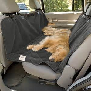 Backseat Car Covers For Dogs Driving With Dogs Safety And Accessories Drivenct