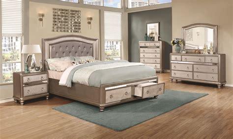 Bling Bedroom Set by Bling 4pc Storage Bedroom Set Furniture Mattress