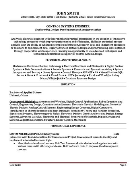 electrical engineering resume template perfect electrical engineer