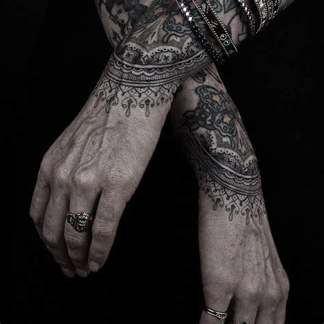 lace hand tattoo black and grey amaaaaayyyyzing inspira tattoos