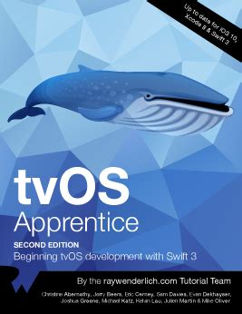 tvos apprentice third edition beginning tvos development with 4 books tvos apprentice wenderlich