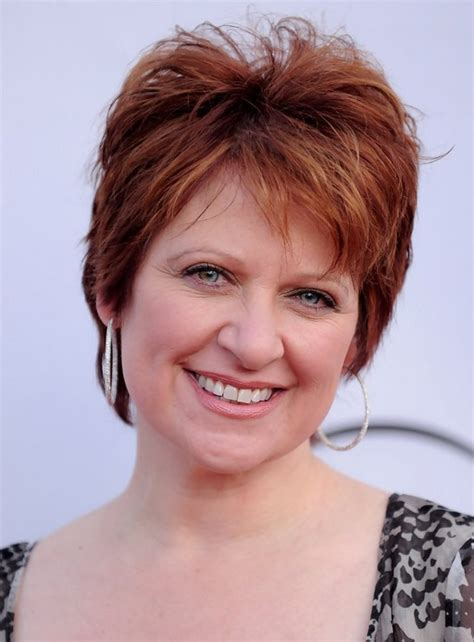 what kind of haircut does caroline manzo have caroline manzo layered short red pixie cut for women over