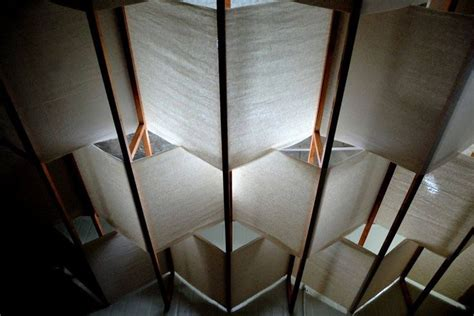 Cloth Ceiling Basement by 17 Best Ideas About Fabric Ceiling On