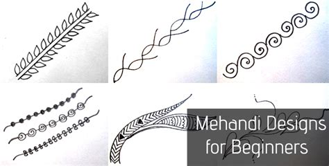 mehndi design for beginners step by step step by step