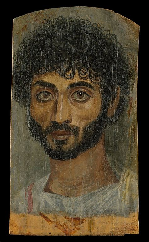 Expedition 6686 Brown Lip Original fayum or mummy portraits books to the ceiling