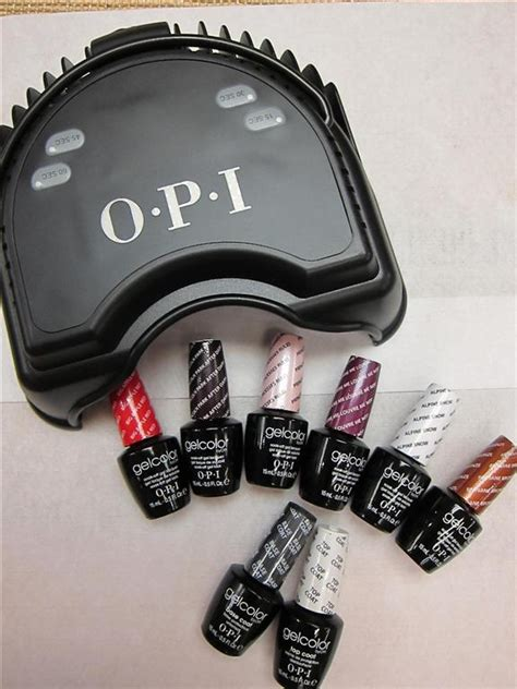 gel nagellak opi opi launched opi gelcolor with led technology rainbow