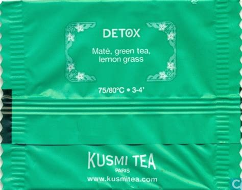 Detox Tea Suppliers by Detox Kusmi Tea Catawiki