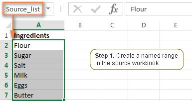 Nsoutlineview Source List Exle by Excel Drop List How To Create Edit And Remove A Drop Box