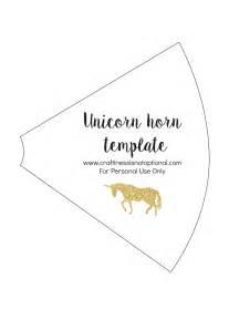 unicorn horn template cumplea 241 os unicornio
