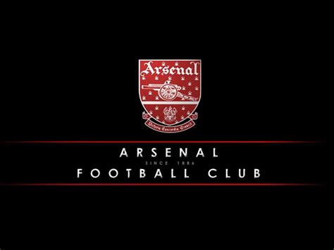 Arsenal Black Wallpaper Classic Arsenal Fc Football Logo Pictures Black Wallpaper