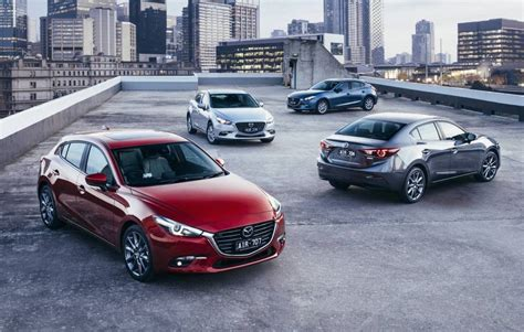 mazda car range australia 2017 mazda3 officially revealed arrives august 1