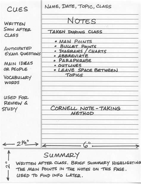 note making styles skills hub cornell note taking method journals notebooks paper